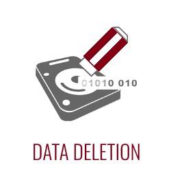 Secure data deletion is crucial when disposing of used IT equipment