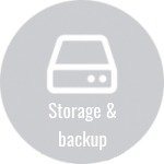 Storage and backup are vital ingredients in IT infrastructure