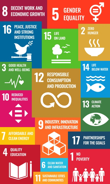 UN Sustainable Development Goal #12 - Responsible Consumption and Production